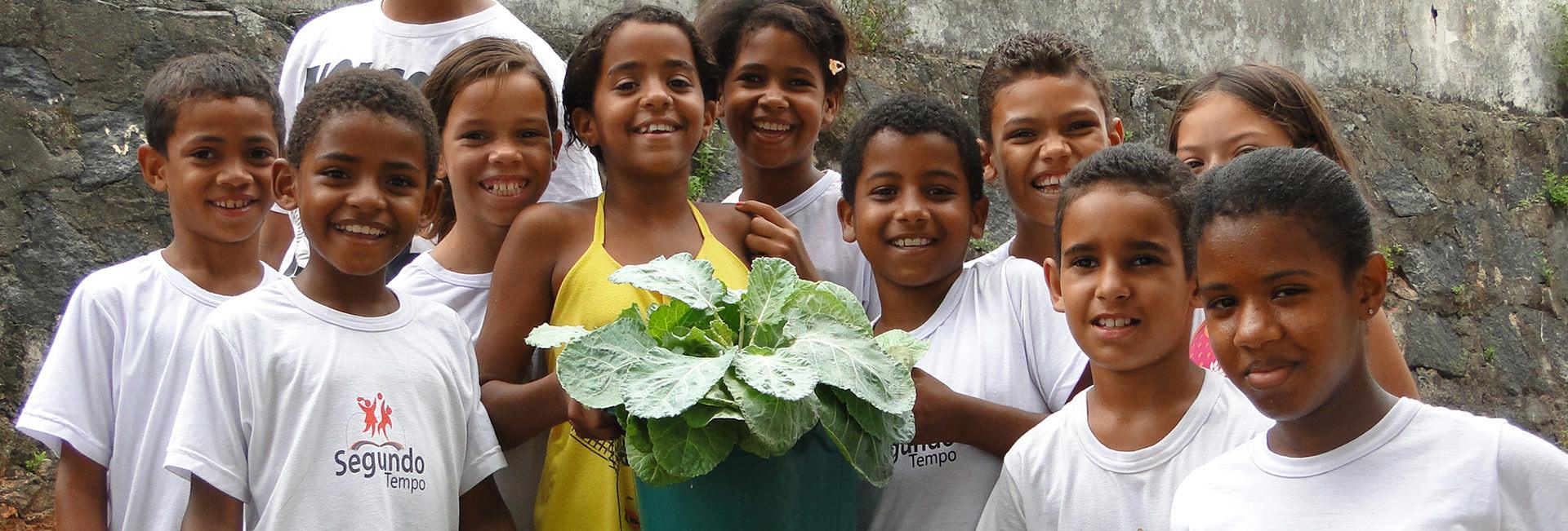 Nestes anos já beneficiamos 3 milhões de crianças e 12 milhões de brasileiros com nossas ações