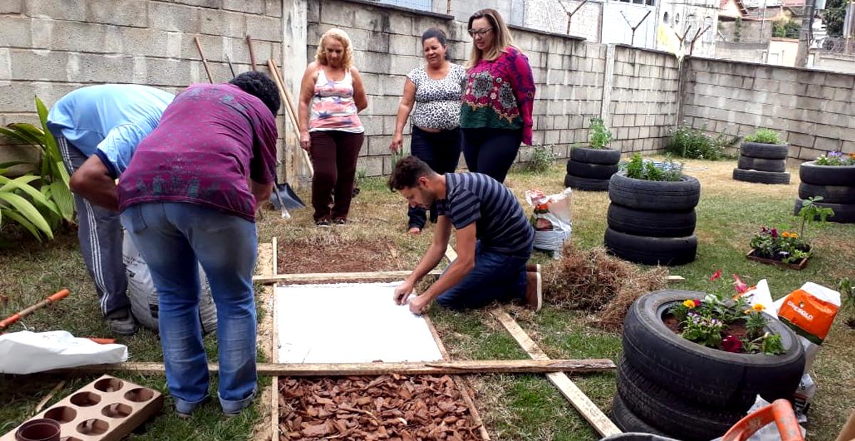 Formação para educadores - Jardim dos Sentidos