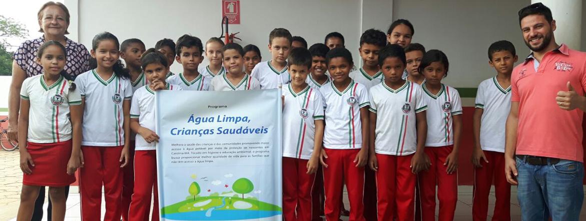 Água Limpa, Crianças Saudáveis