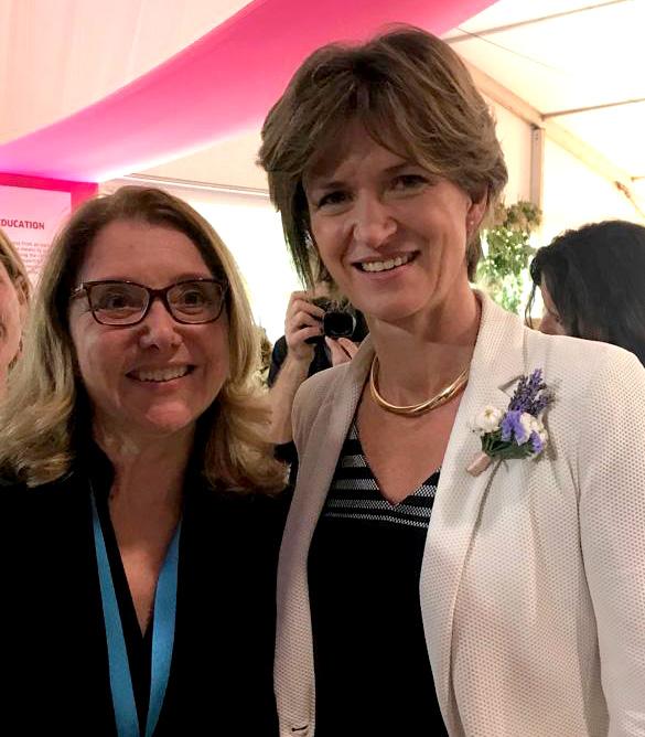 Joyce Capelli e Isabelle Kosher, diretora executiva da Engie.