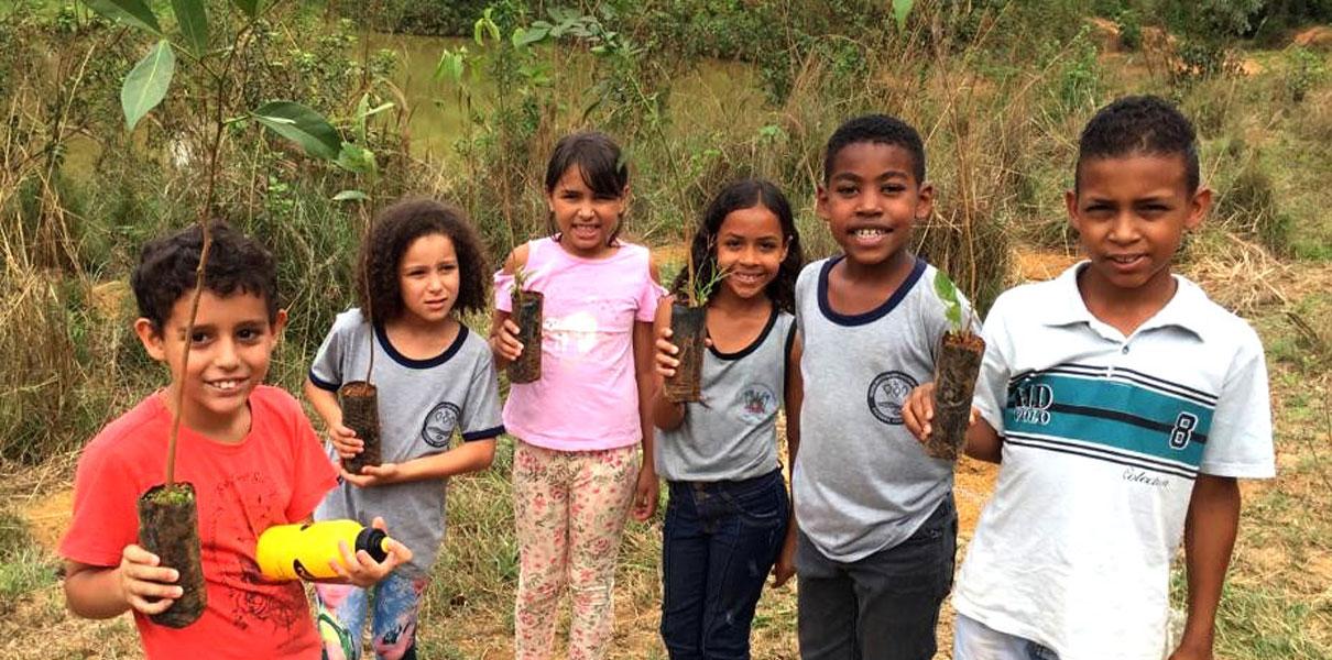 Atividades educativas em Paracatu