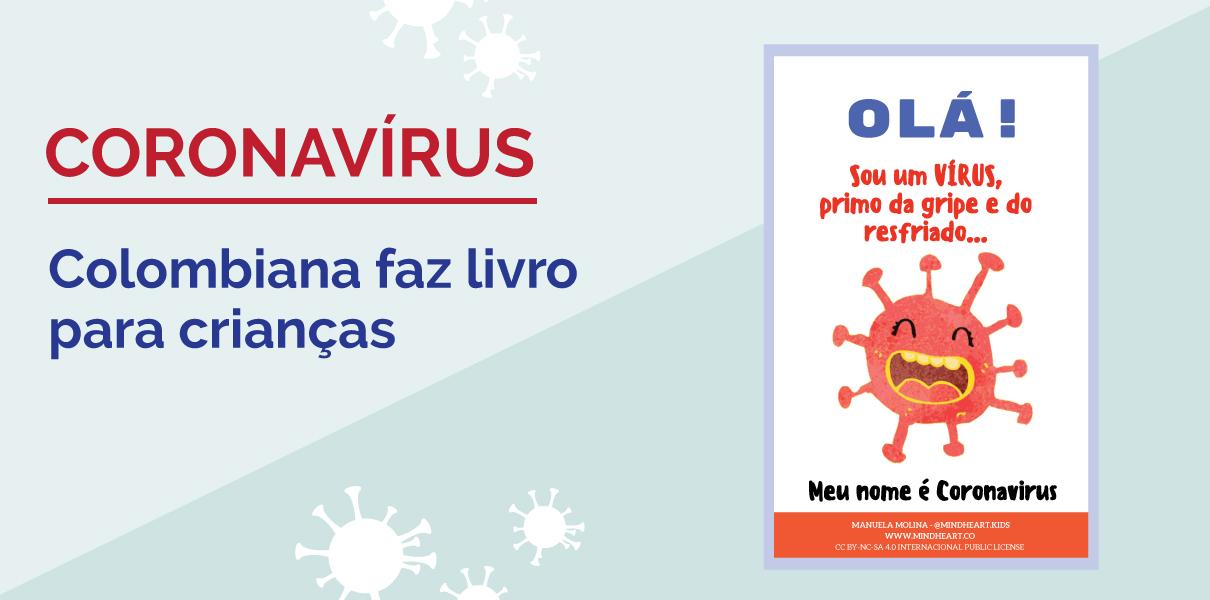 Coronavírus Livro para crianças