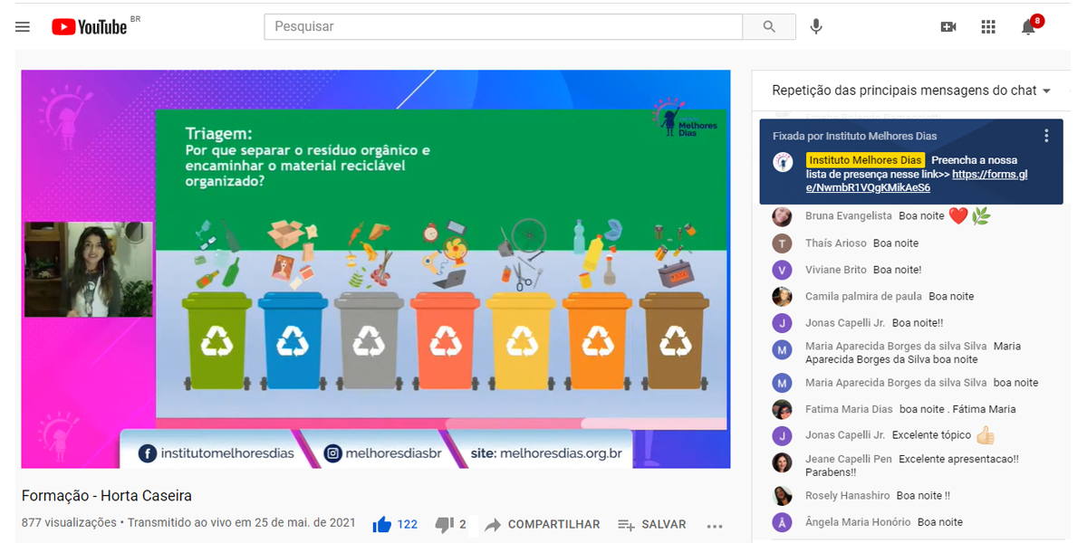 Horta compostagem Youtube