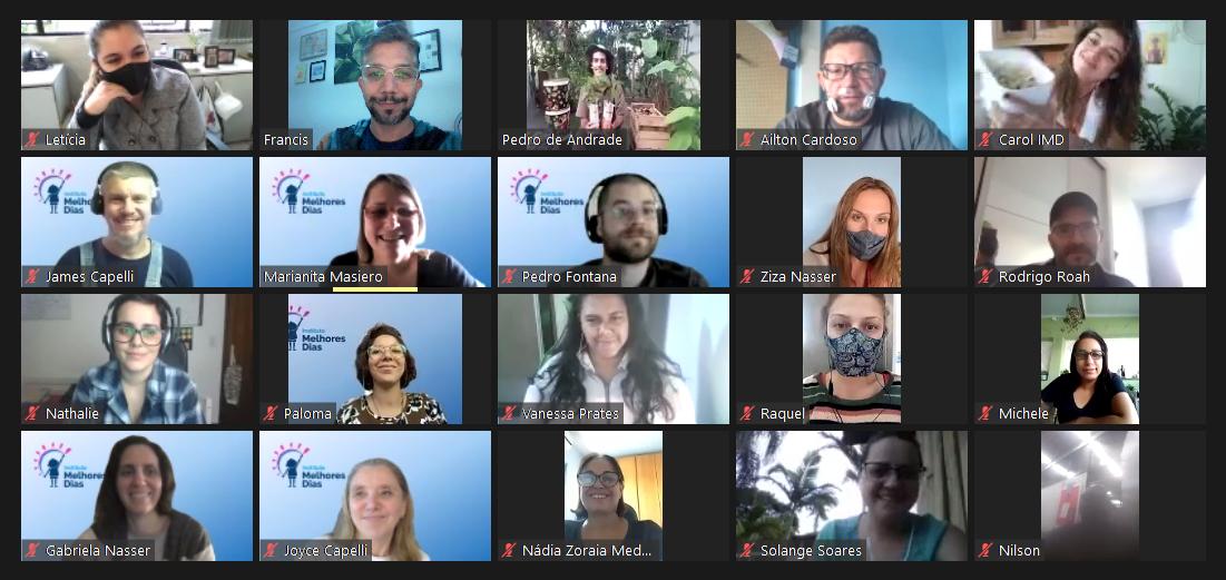 Participaram 25 técnicos da Secretaria de Educação de São Bernardo