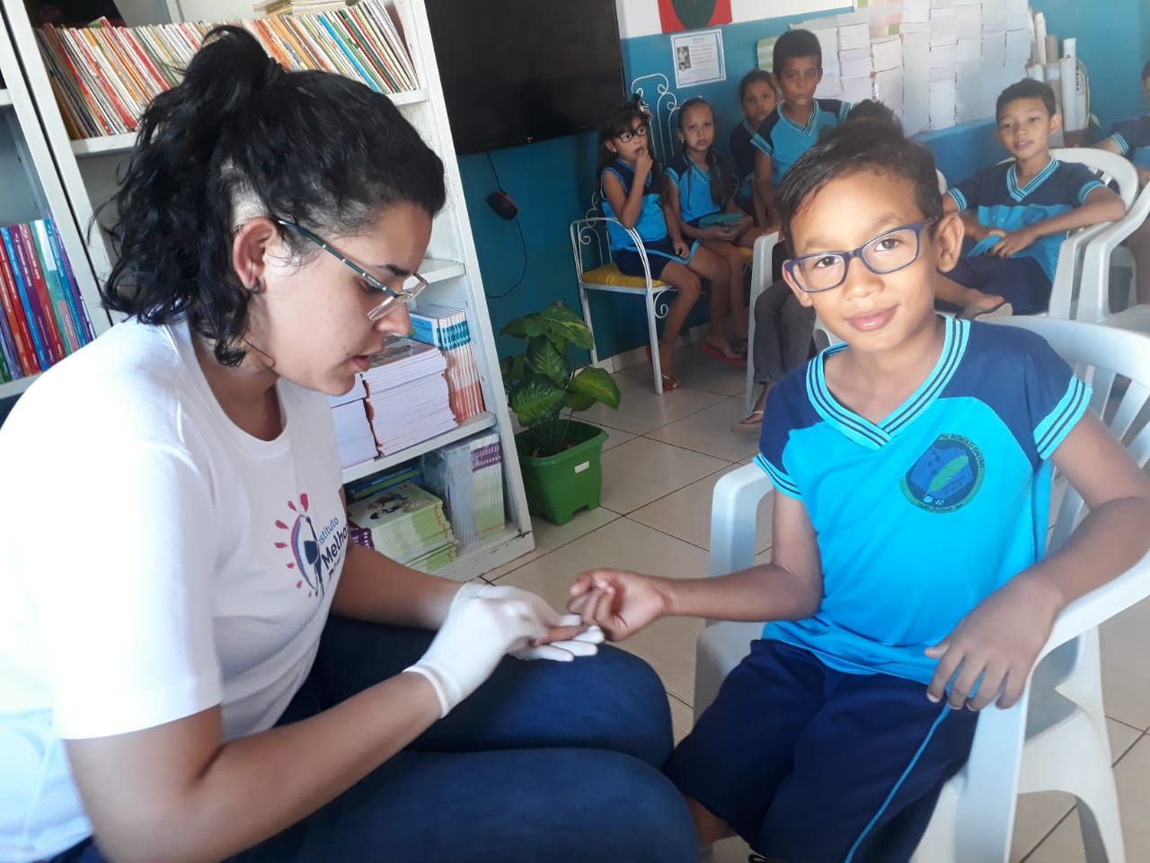 Exames antropométricos em Umburanas, junho de 2019